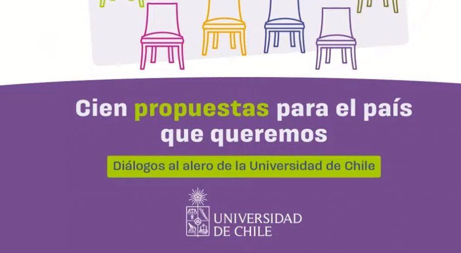 Elaboradas por iniciativa Propuesta de Acuerdo Social (PAS): Universidad de Chile presentó 100 propuestas para el país que queremos