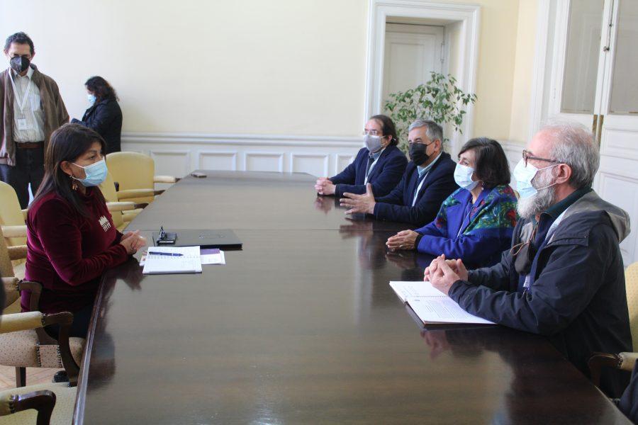 Académicos de la U. de Chile entregan propuestas constitucionales sobre ciencia a Mesa de la Convención